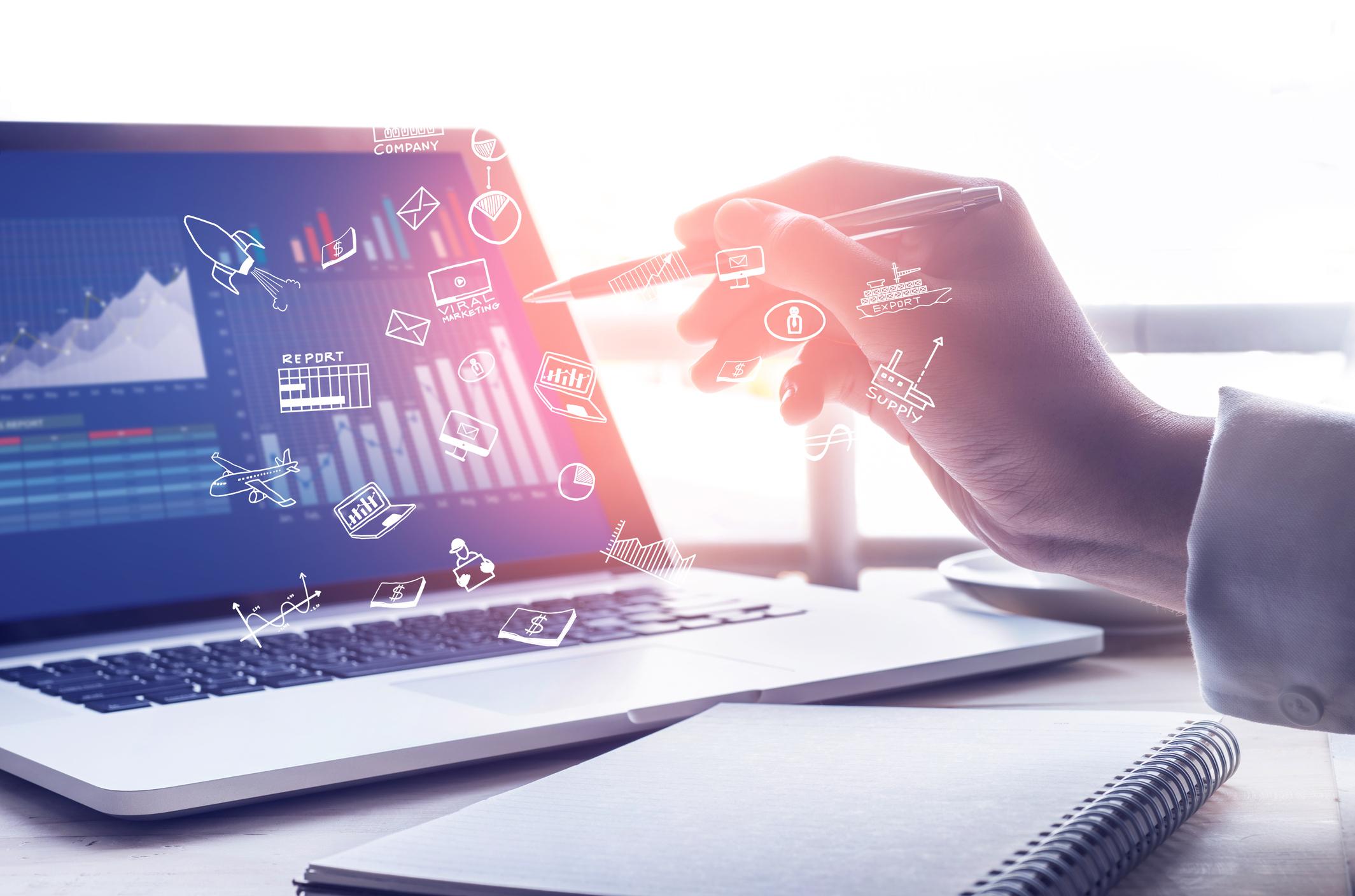 Online-Geschäftsmarketing